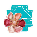 Kanzashi Flower Maker Clover (Japan) 8480