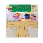 Kandilise väikese korvi mallid / Basket Frames (Square/Small) / Clover (Japan) 8421