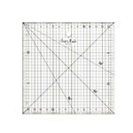 Clear View Plastic Ruler 15cm x 15cm / SewMate (Taiwan) #1515