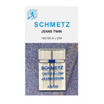 Kodumasina Topelt-teksanõel / Twin Jeans Needle for Home Sewing Machines / Schmetz (Germany)
