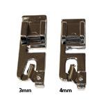 Pöördpalistuse tald standardse kiirkinnitusega masinatele / Rolled Hem Foot (Hemming Foot)