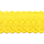 Broderiipits sulgedega laius 50mm Nr.4 /Cotton Lace/Broderie Anglaise