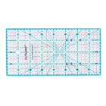 Tollmõõdustikus joonlaud / 4` x 8` Inch Scale Quilting Ruler with 1/8` gird / Le Summit (Taiwan) 34148