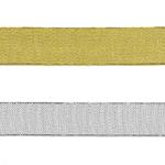 Kuld-ja hõbepaelad laisega 25 mm / Golden & Silver Laces