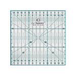 Läbipaistev plastjoonlaud / Clear View Plastic Ruler 15cm x 15cm  / LeSummit (Taiwan) #34115