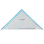 Triangle Plastic Clear View Ruler / Le Summit (Taiwan) 34214