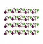 Safety (locking) Stitch Markers, 22 mm, 30 pcs set, KnitPro 10805