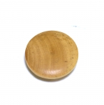 SB101 Naturaalsed puitnööbid, aasataolise auguga, läbimõõduga 23mm/36L