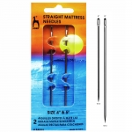 Straight Mattress Needles, 10 & 12,5cm, Pony 88005