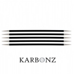 Double Pointed Knitting Needles KnitPro Karbonz 20cm
