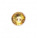 Ümar kristallilaadne akrüülnööp 13mm, 21L