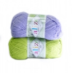 Bamboo & Cotton Duet Yarn / Alize (Turkey)
