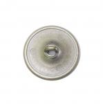 Metallist, keskelt lohuga, kannaga nööp ø22 mm, suurus: 34L