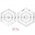 Šabloon-joonlaud / Clear View Twin Ruler / max.63mm, LeSummit (Taiwan) NT-6010
