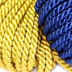 Viscose covered Furniture cord, 6,5mm