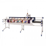 Long arm quilting machine JUKI TL-2200QVP + quilting rails