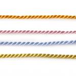 Punokset (kierteiset nyörit) / tekosilkkinen naru / 3,0mm / Art.845214430