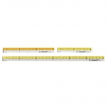 Läbipaistvate minijoonlaudade komplekt, Small Clear View Quilting Ruler 3ps set, LeSummit QR-1410, QR-1415, QR-1430