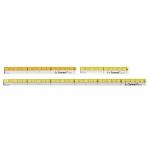 Läbipaistvate minijoonlaudade komplekt / Small Clear View Quilting Ruler 3ps set / LeSummit QR-1410, QR-1415, QR-1430