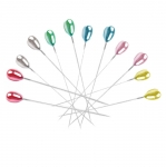Plastic Teardrop Head Pins