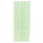 Nylon knitting machine 24 stitches punch card green