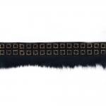 Karvariba ja sätendavate ruutudega kaunistatud pael AA89/HDL-553