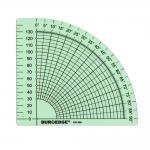 Räätälin kulmaviivain eli astelevy, 16cm × 16cm, Duroedge KR-900