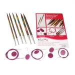Symfonie Wood Interchangeable Circular Knitting Needle Starter Set KnitPro 20604