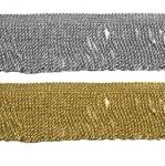 Metalliknarmad pikkusega 7cm AA123/Metalic-70