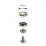 Press Buttons s-spring, brass made, ø15 mm, 25pcs set