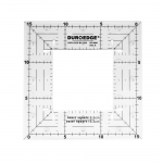 Šabloon-joonlaud ruutude lõikamiseks / Clear View Square Maker Ruler, Duroedge (Taiwan) KT-6565