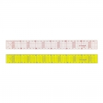 Clear View Ruler 3 cm x 30 cm, Le Summit 34303