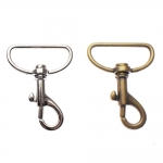 Swivel hook; swivel lach; swivel ring; snap hook, key clasp, 48mm, lace hole ø32mm,
