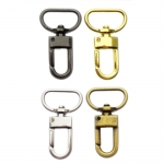 Swivel hook; swivel lach; swivel ring; snap hook, key clasp, 44mm for lace 20mm