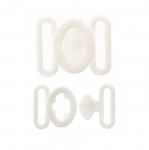 Plastic Bra Lock, bra fastener for 12mm strip