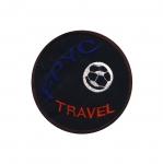 Triigitav Aplikatsioon; Jalgpall, `FPYC Travel` / Embroidered Iron-On Patch; Soccer Ball, `FPYC Travel` / 9,5cm