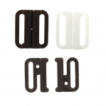 Plastic Bra Lock, bra fastener for 18-20mm strip