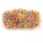 Round Plastic Head Pins, 500 g , 40 mm х ø0,6 mm