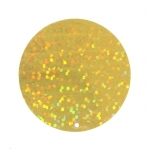 Flat Circle Sequins, 1 Side Opening / ø40mm