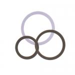 Кольцо бюстгальтер, изготовлена из металла