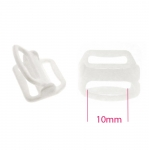 Plastic Bra Slider for 10mm strip, locking type