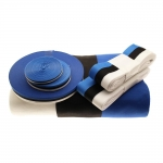 Blue Black White Cord & Ribbon