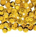 Tahulised kausjad plastlitrid / Semi-Cupped Circle Sequins, 1 Center Opening / ø8mm