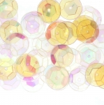 Semi-Cupped Circle Sequins, 1 Center Opening / ø12mm