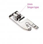 Pöördpalistuse tald vaid Singer-tüüpi kiirkinnitusega masinatele / Rolled Hem Foot for 2mm wide Singer type snap-on