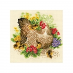 Cross-Stitch Kit RIOLIS Art.1480 Hen