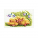 Cross-Stitch Kit RIOLIS Art.1322 Funny Ducklings