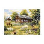 Cross-Stitch Kit RIOLIS Art.1501 Afternoon in the Country