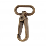 Swivel hook; swivel lach; swivel ring; snap hook, key clasp, Twist Base, 59mm for band 25-30mm