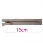 Metall-tõmblukud pikkusega 16cm